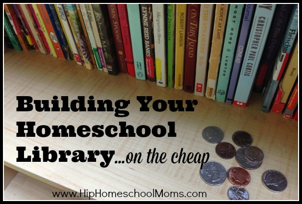 building your homeschool library cheap