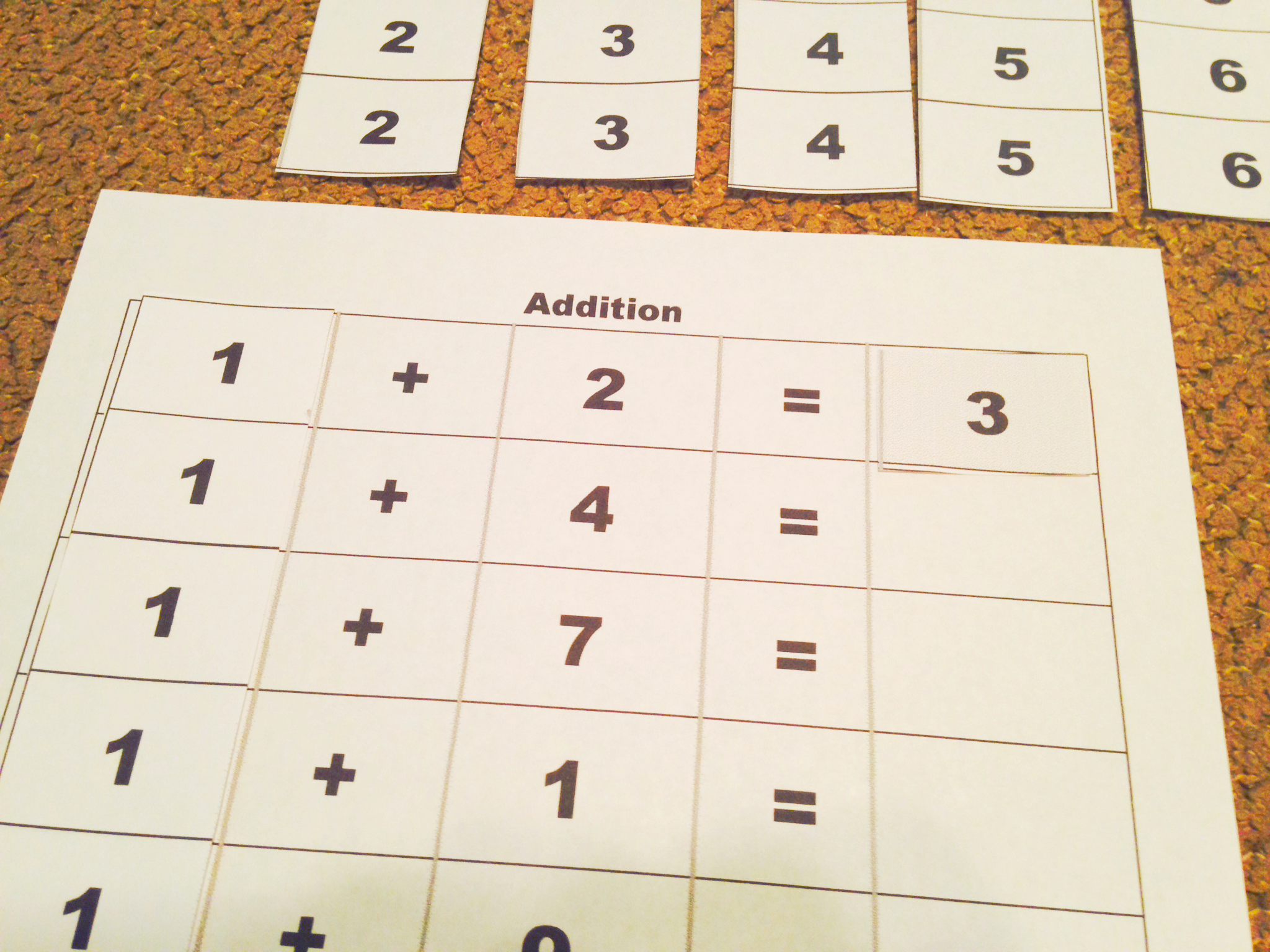 Montessori Math: Four Operations (Addition) with Free Printable ...