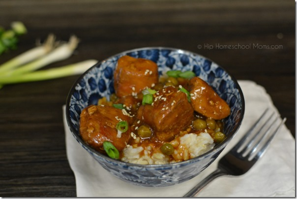 Crockpot Sesame Chicken from Hip Homeschool Moms