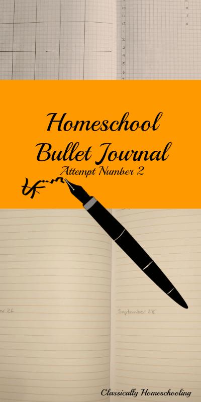 Homeschool-Bullet-Journal-Attempt-Number-two