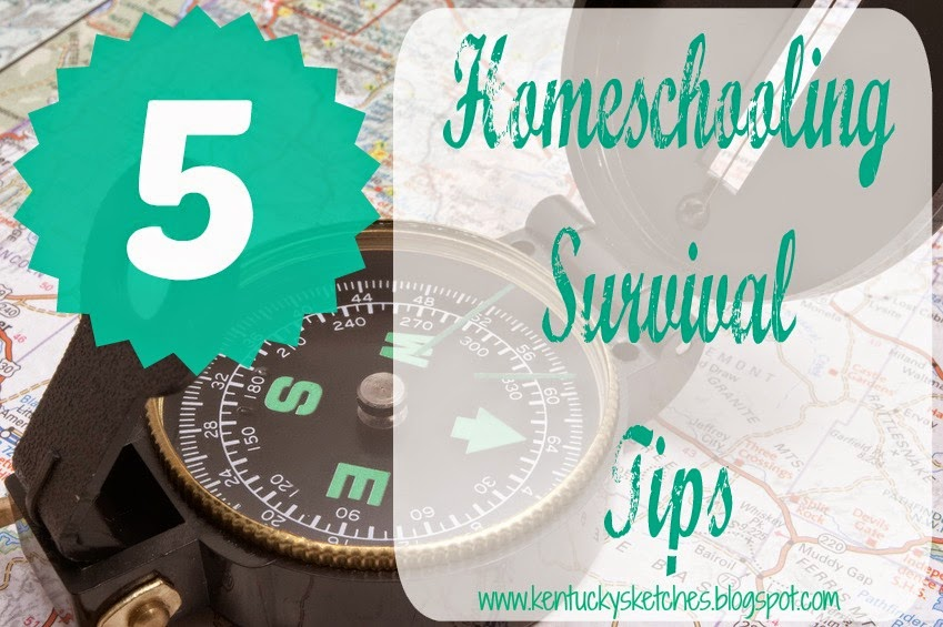 Homeschool Survival Tips