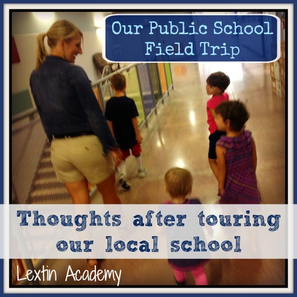 Our Public School Field Trip
