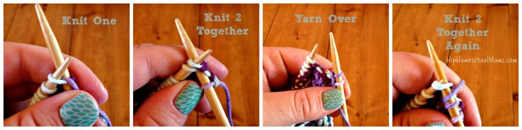 step4knittingcollage