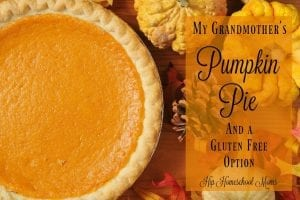 This is a differently delicious pumpkin pie recipe!