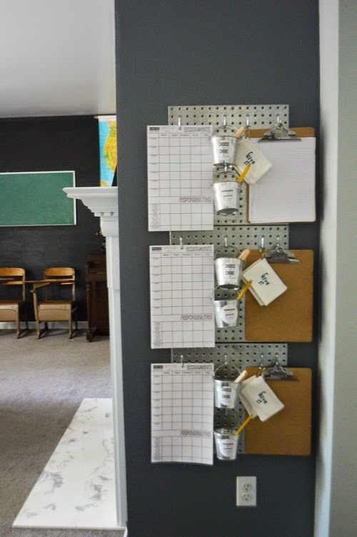 responsibility-station-homeschool-room