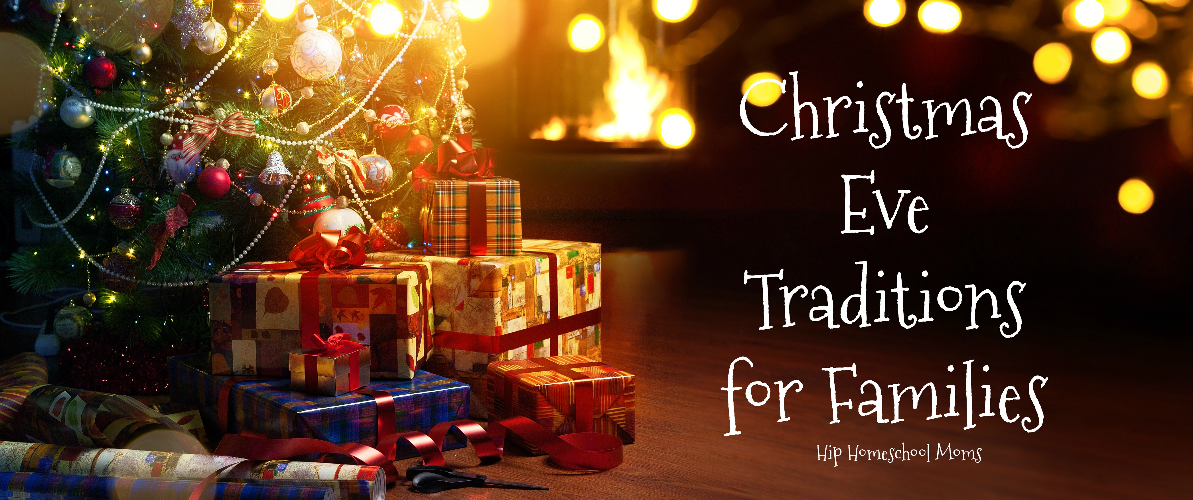 These are fun Christmas Eve traditions for families to enjoy together!
