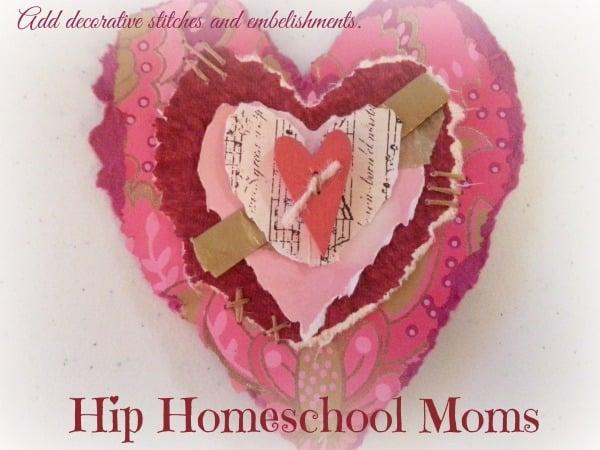 Add decorative stitches and embellishments. | Hip Homeschool Moms