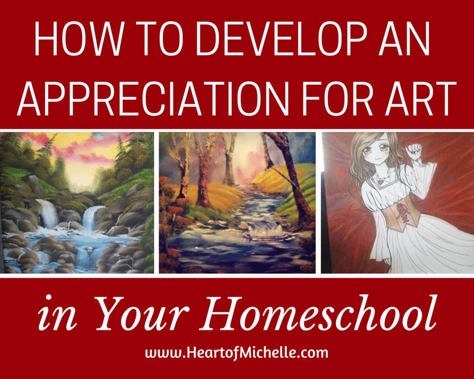 Art Appreciation in Homeschool (1)