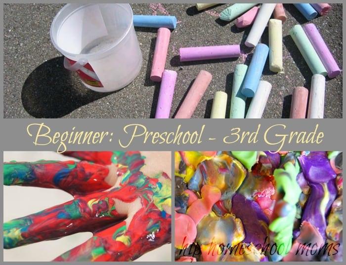 Beginner: Preschool - 3rd Grade Big lIst of Art Supplies