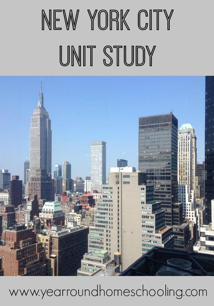 New-York-City-Unit-Study