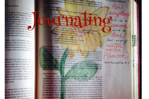 creative bible journaling