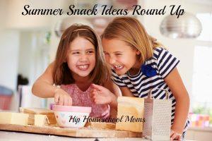 Summer Snack Ideas Round Up