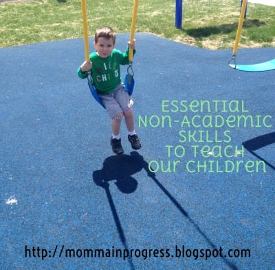 Hip Homeschool Moms Essential Non-Academic Skills