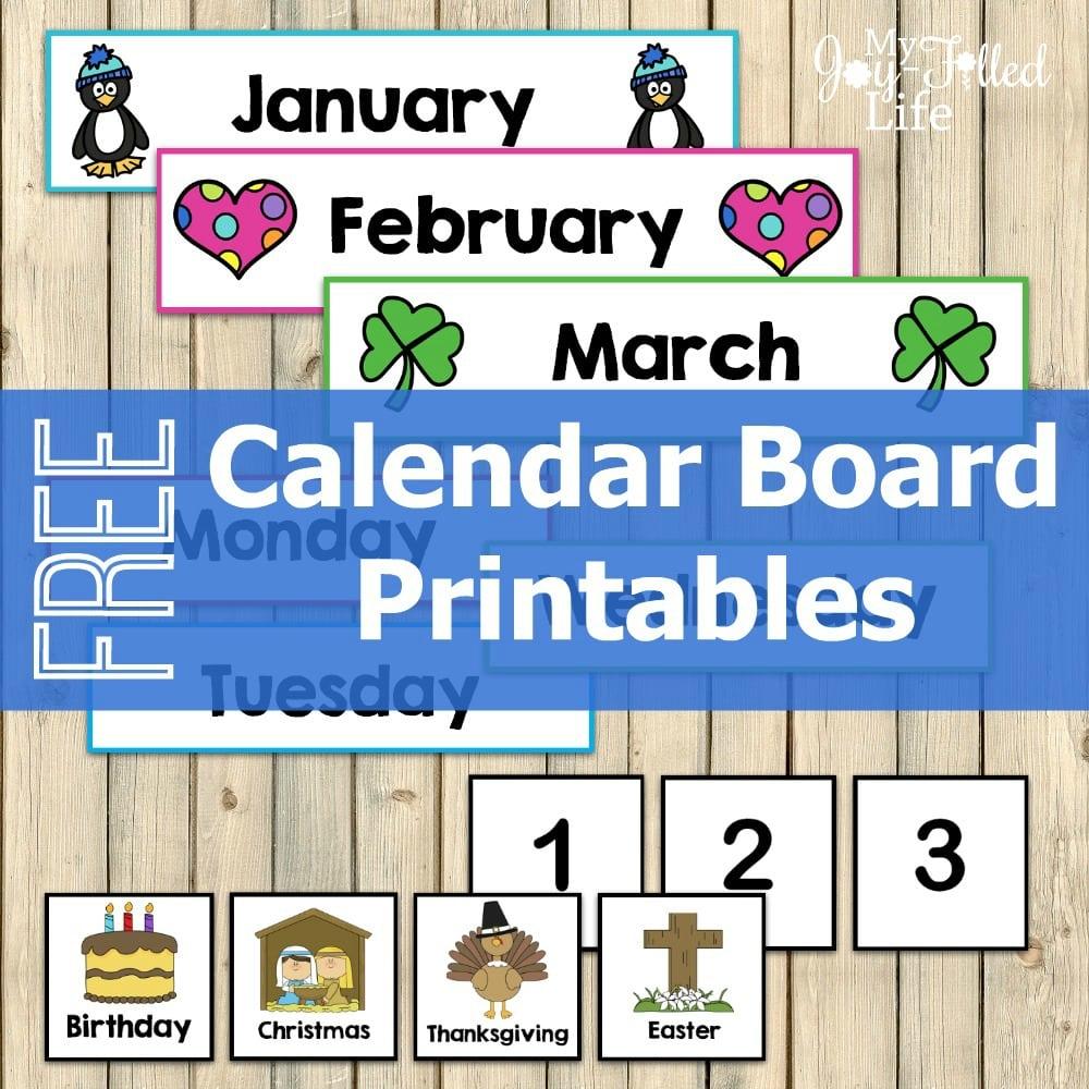 Calendar Board Printables Square logo