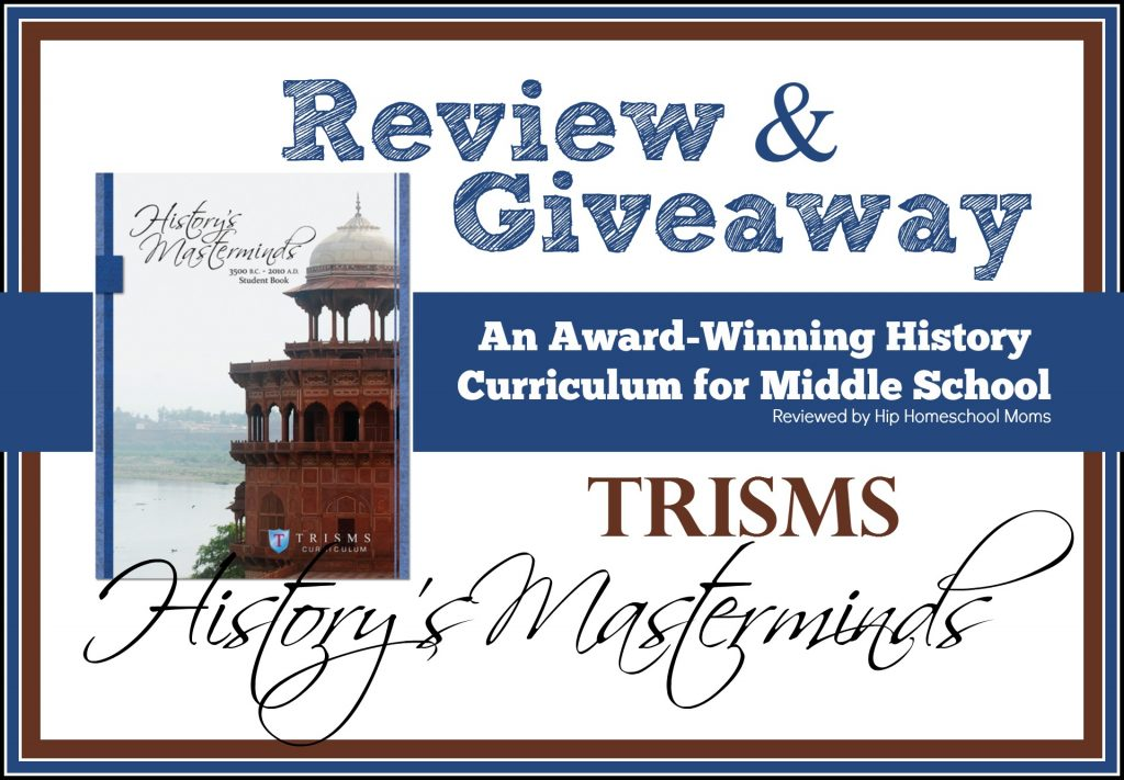 Trisms Historys Masterminds Review And Giveaway Hip Homeschool Moms