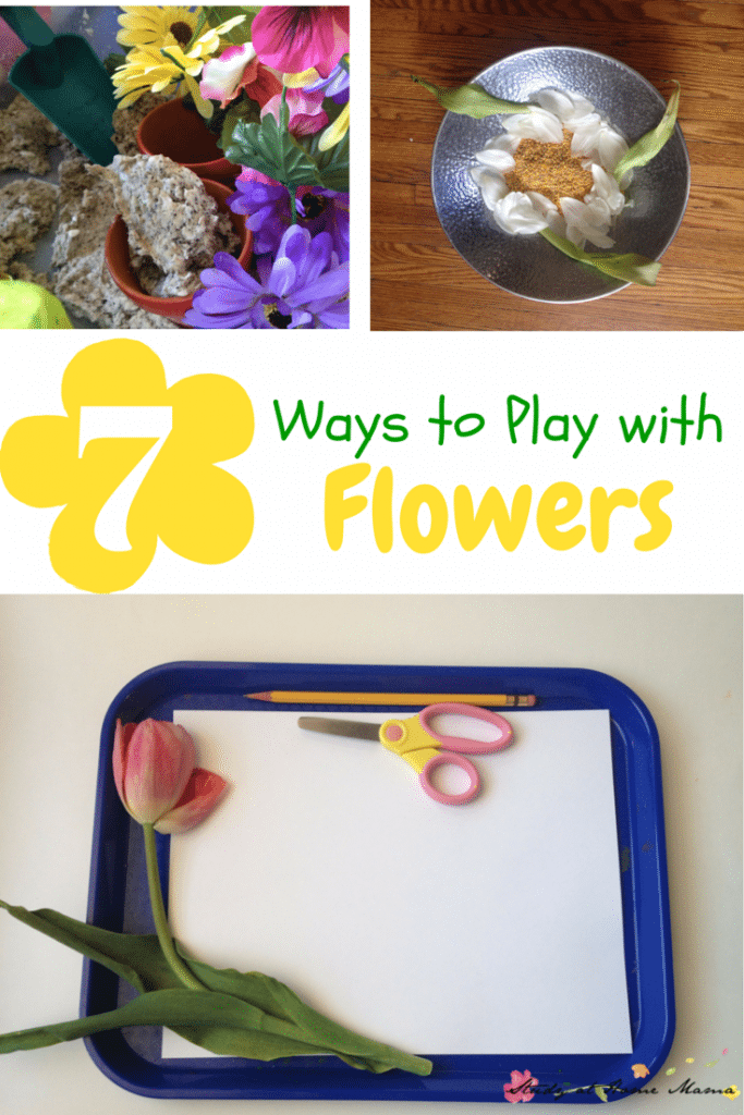7 ways to play with flowers