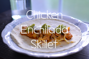 Chicken Enchilada Skillet by Constance Smith from Hip Homeschool Moms