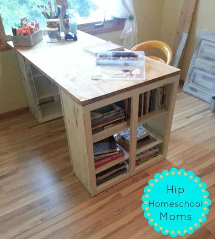 Diy Craft Room Table: Hip Homeschool Moms
