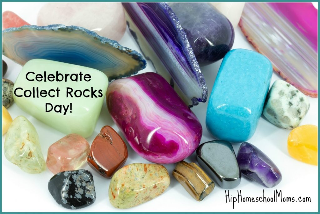 Celebrate Collect Rocks Day