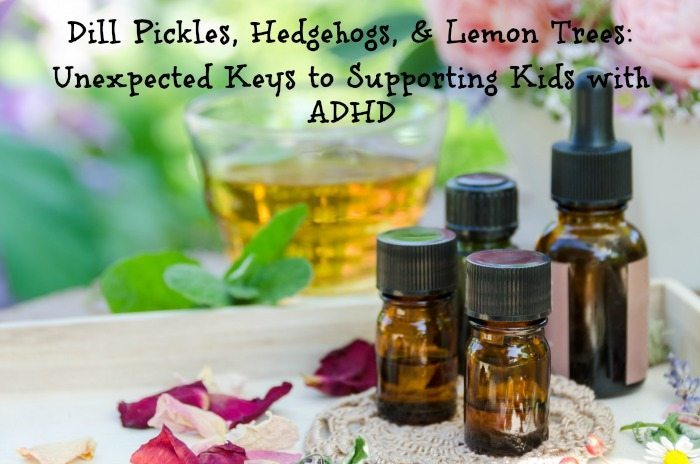essential oil blends for adhd