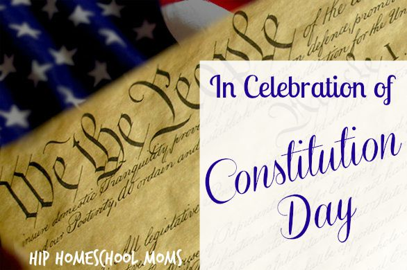 In Celebration of Constitution Day