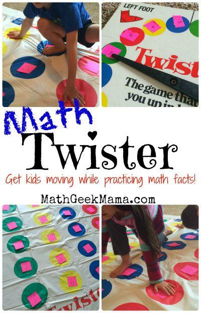 HOP Math Twister