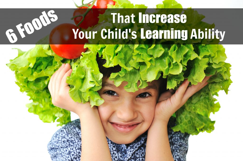 Here's what your kids should be eating to increase their ability to learn!