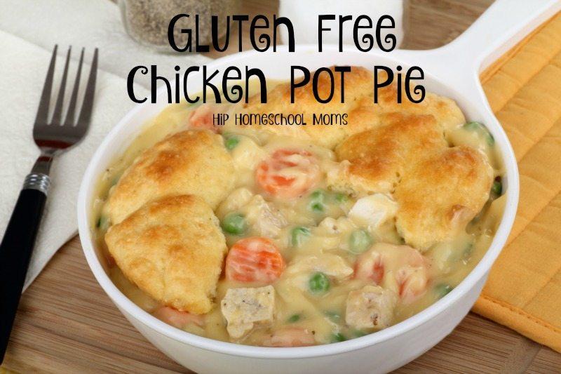 HHM Gluten Free Chicken Pot Pie