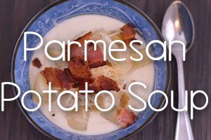 Slow Cooker Parmesan Potato Soup from Constance Smith at Hip Homeschool Moms