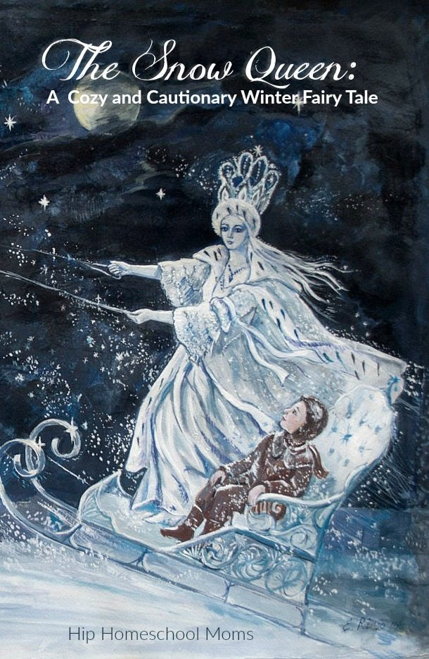The Snow Queen - A Cozy and Cautionary Winter Fairy Tale pinterest