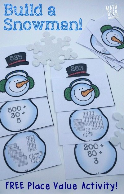 HHM Build-a-Snowman-Place-Value-Activity_MathGeekMama