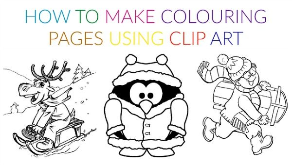 HHM How to Make Colouring Sheets