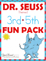 Your 3rd 5th Grade Students Will Have Fun With This Free Dr Seuss Pack From Year Round Homeschooling That Includes Word Scramble