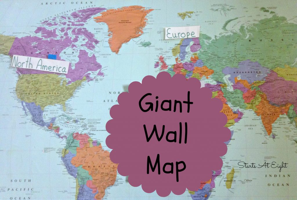 Giant Wall Map
