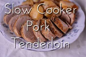 Slow Cooker Pork Tenderloin from Hip Homeschool Moms