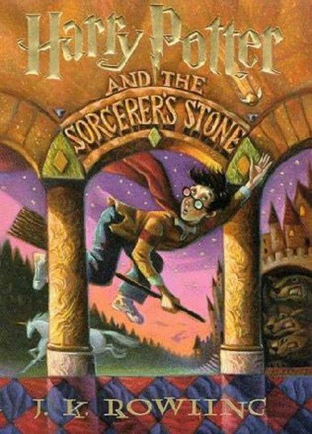 book Harry Potter and the Sorcerer's Stone