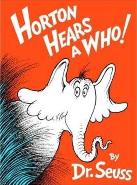book Horton Hears a Who