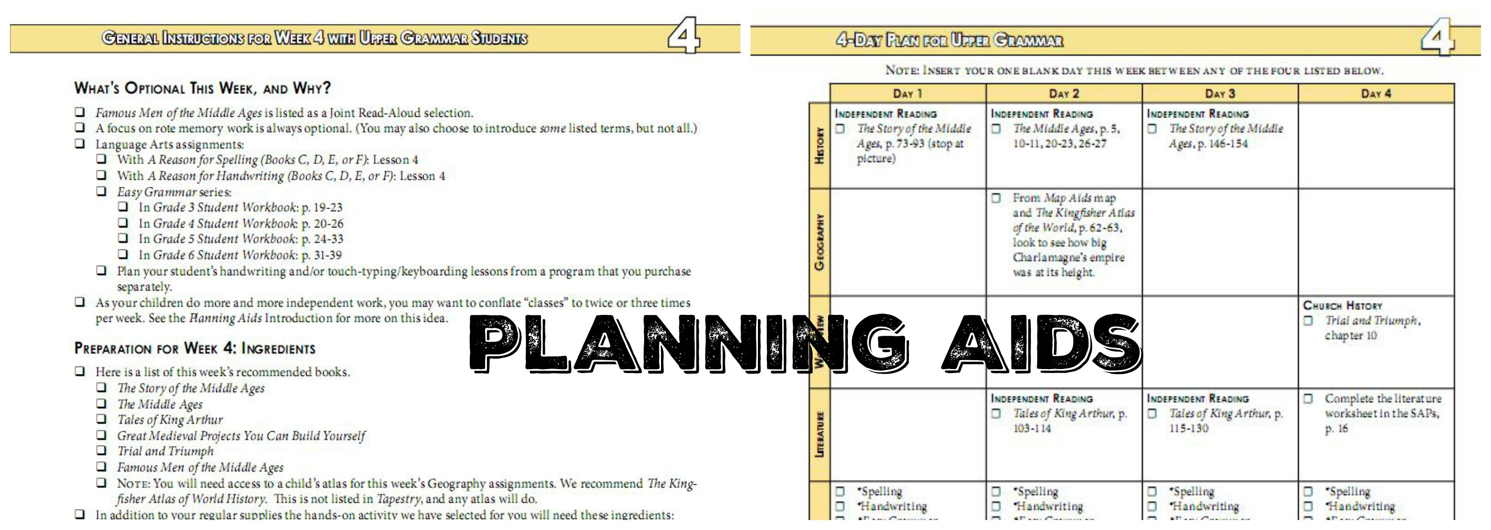 planning aids