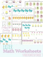 Easter-Kindergarten-Math