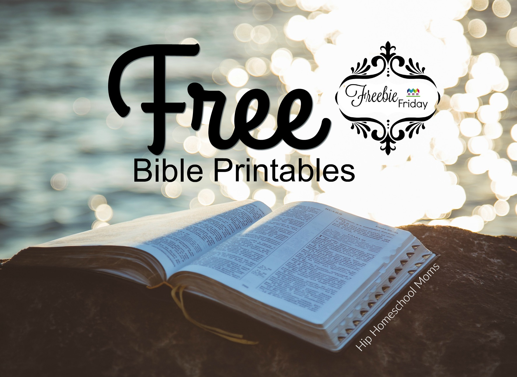 Free Bible Printables | Hip Homeschool Moms