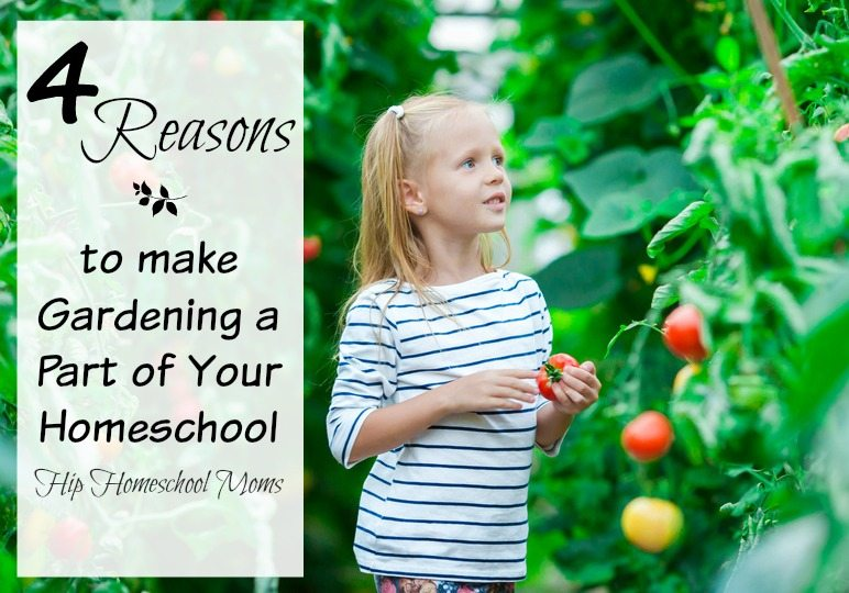 Four Reasons to Make Gardening a Part of Your Homeschool