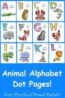animal-alphabet-dot-pages-label