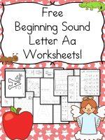 beginning-sound-a-worksheets