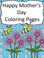 mothers-day-coloring-pages-title