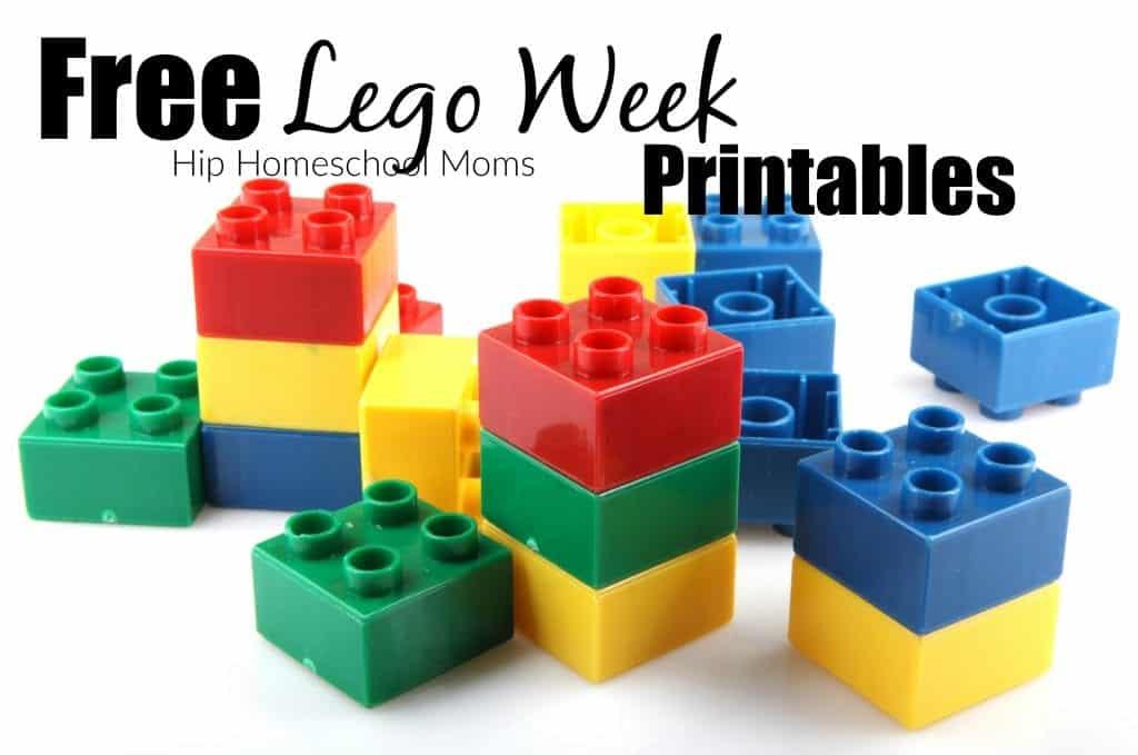 Lego Week Free Printables