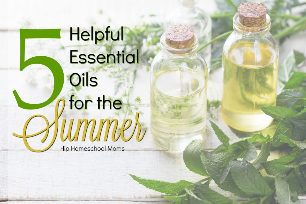 5 helpful essential oils for the summer
