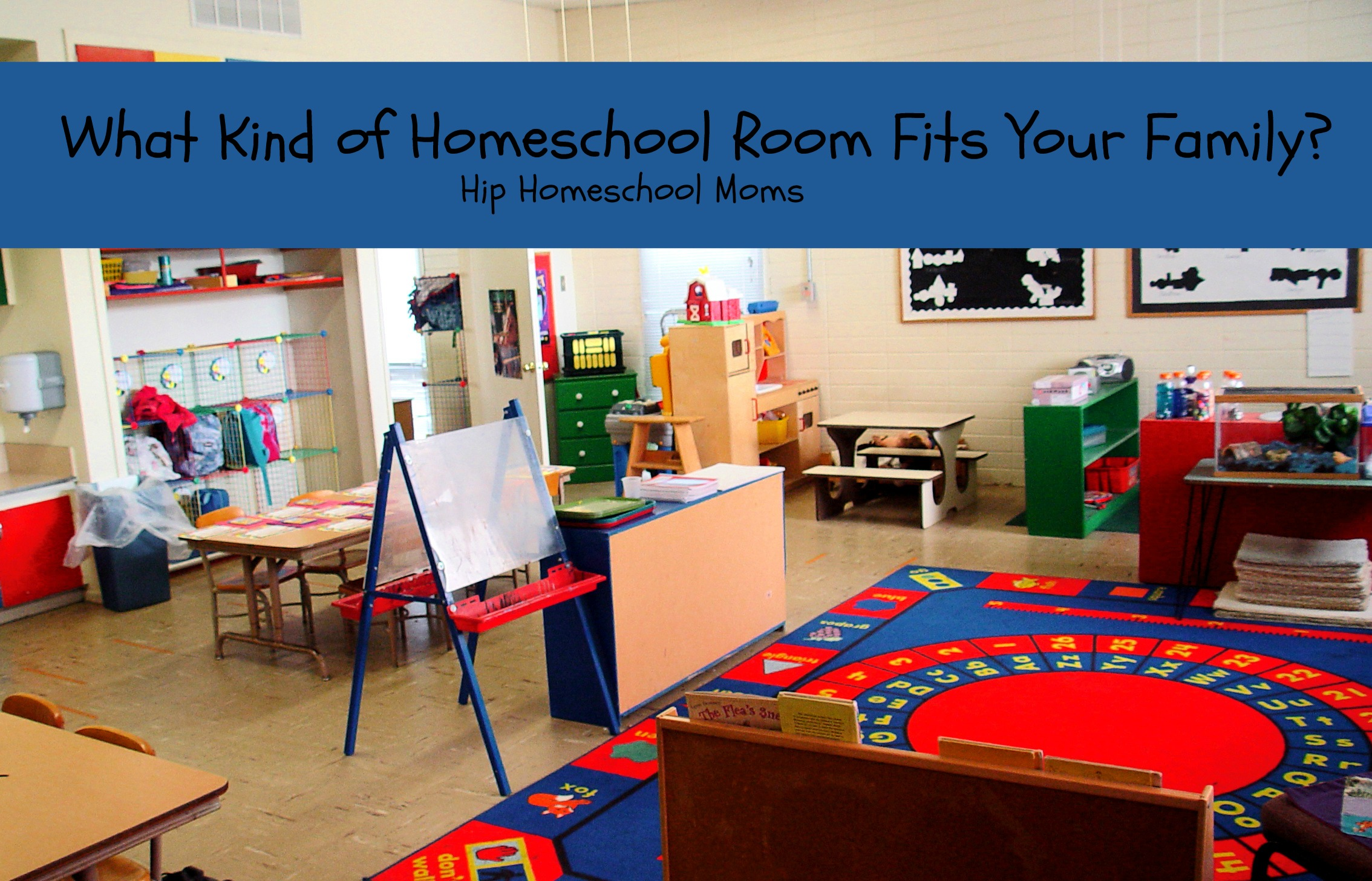 HHM What Kind of Homeschool Room Fits Your Family