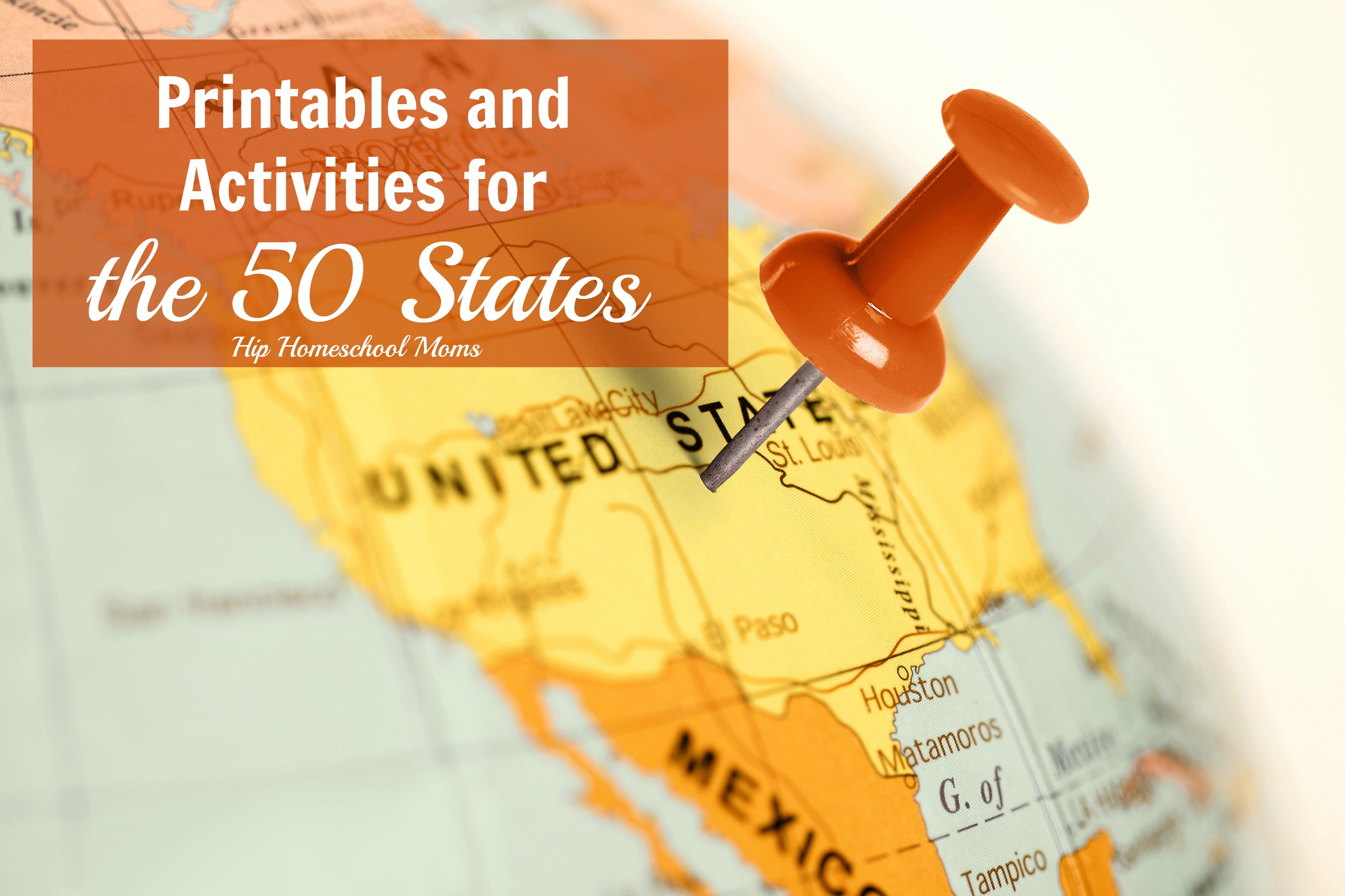 photograph regarding 50 States Activities Printable known as The 50 Claims Printables and Pursuits Hip Homeschool Mothers