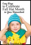Fall Hat Month