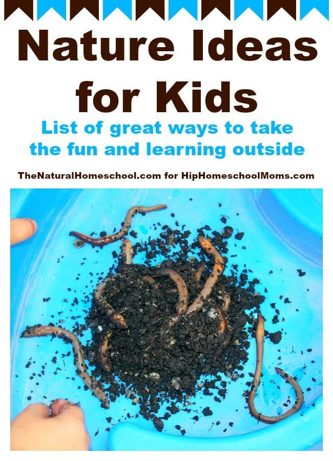 Nature Ideas for Kids |Hip Homeschool Moms